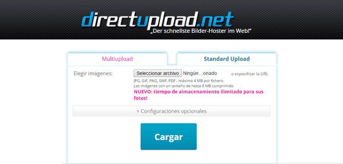 direct upload